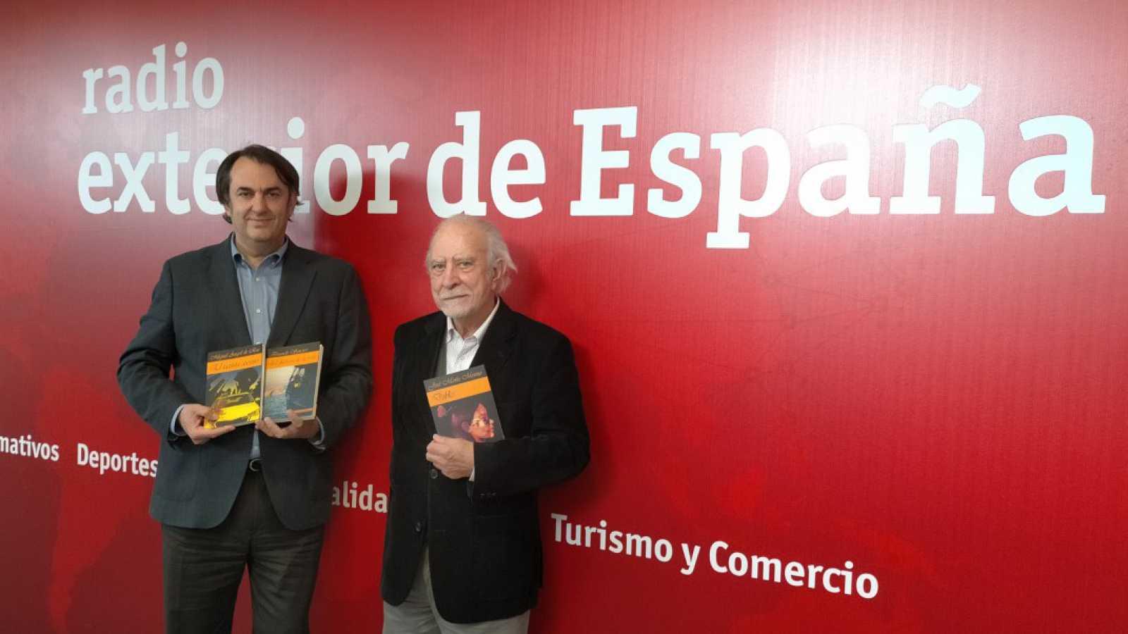 Hora América - Fernando Savater y José María Merino en el Día Internacional del Libro - 21/04/21 - escuchar ahora