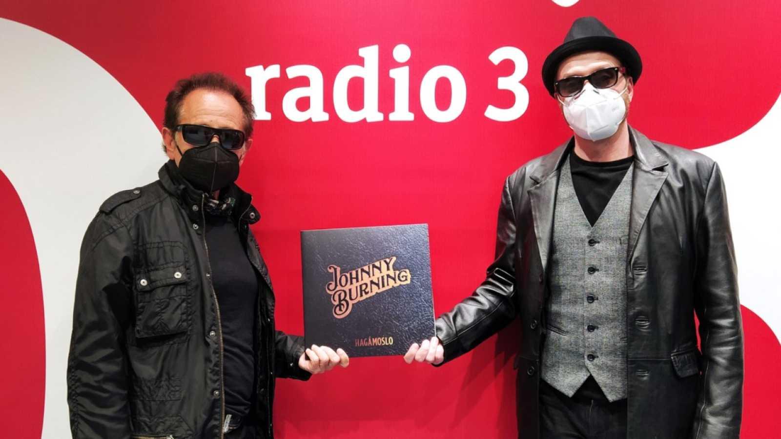 """El sótano - Johnny Burning presenta """"Hagámoslo"""" - 22/04/21 - escuchar ahora"""