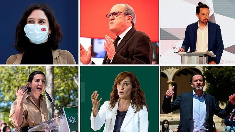 24 horas - Día de campaña madrileña marcado por las encuestas electorales - Escuchar ahora