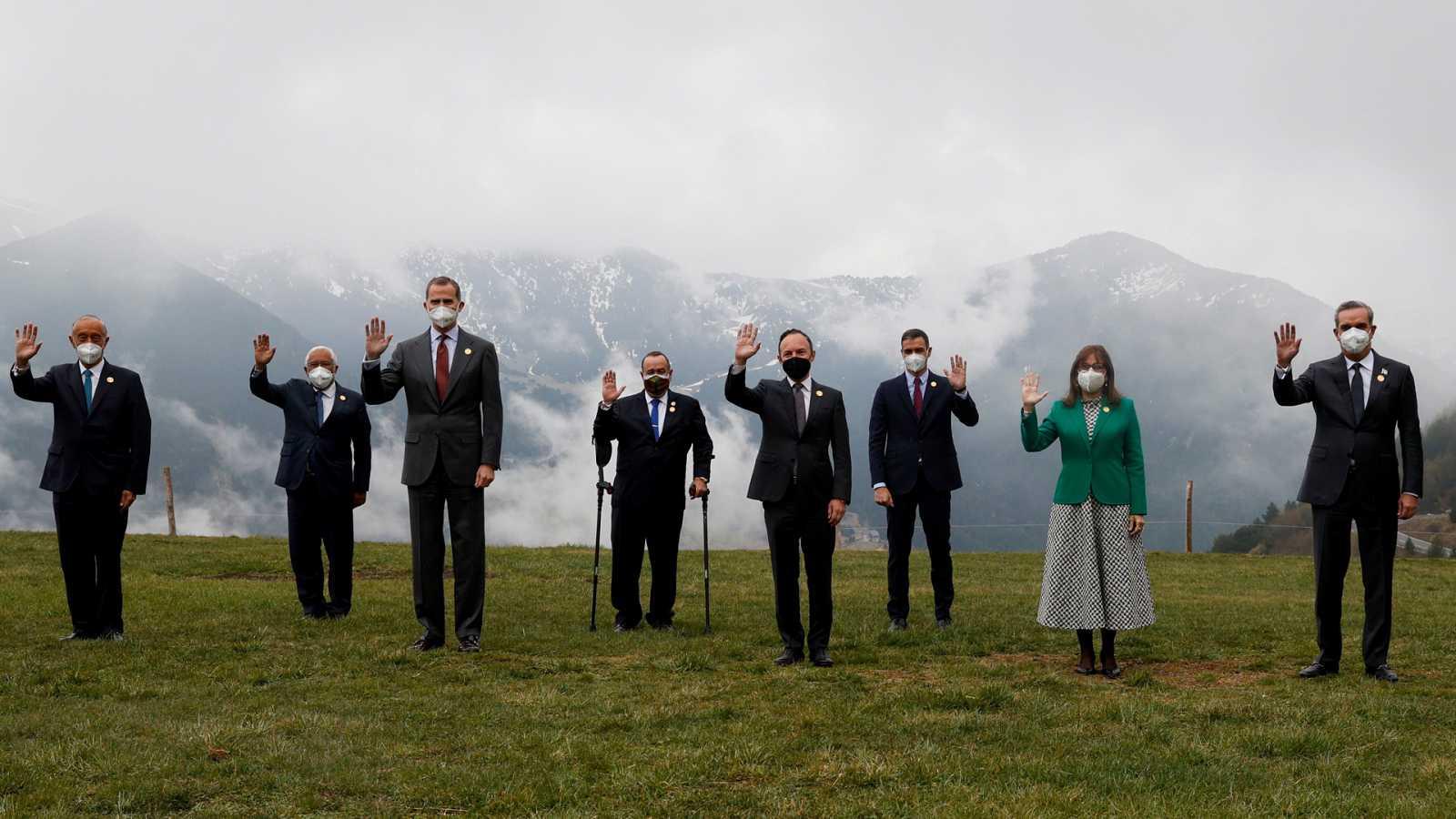 Hora América - La Cumbre Iberoamericana pide un acceso equitativo y universal a las vacunas - 22/04/21 - escuchar ahora