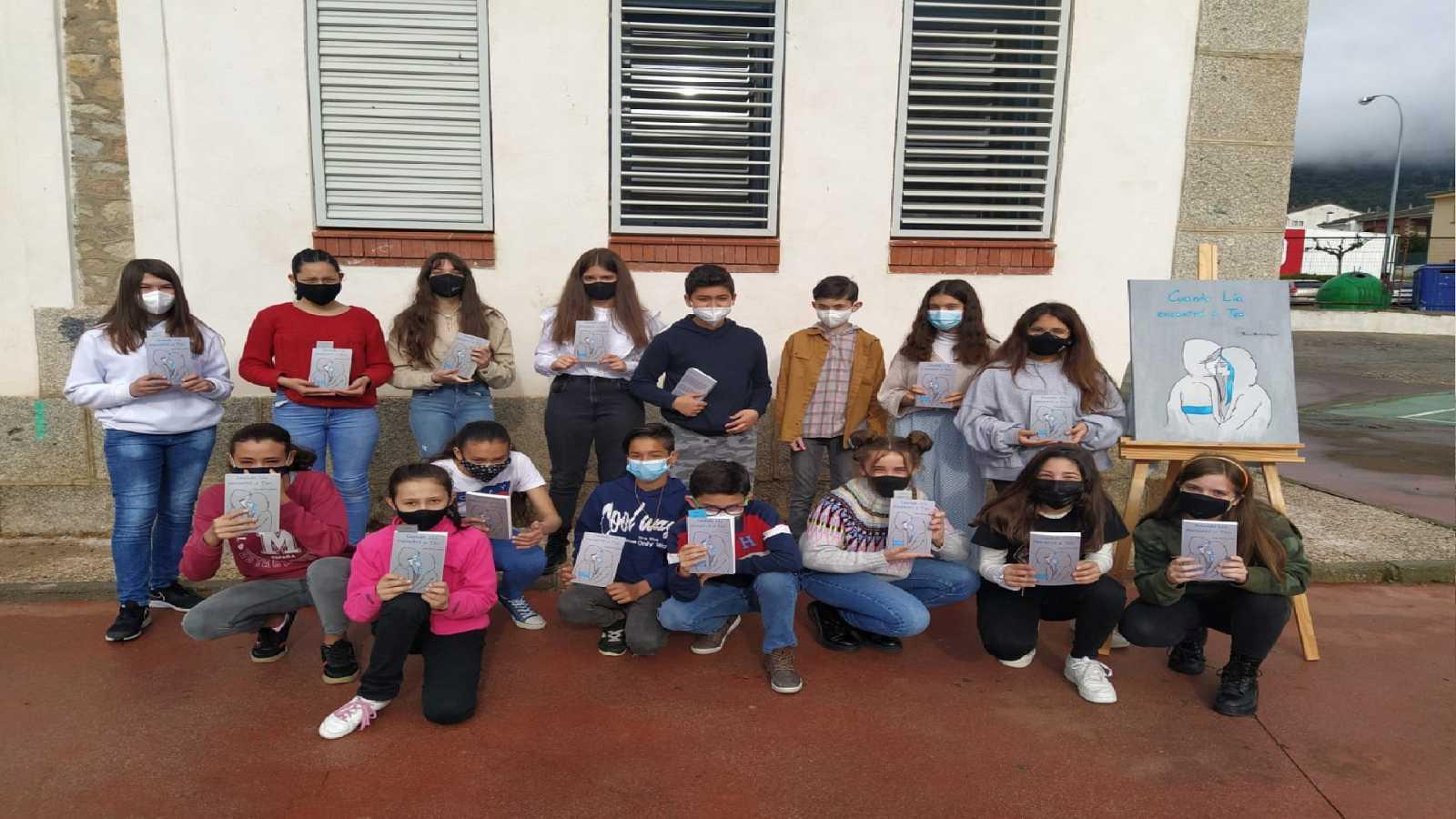 Reportajes Emisoras - Ávila - Ficción escolar en Cebreros - 23/04/21 - Escuchar ahora