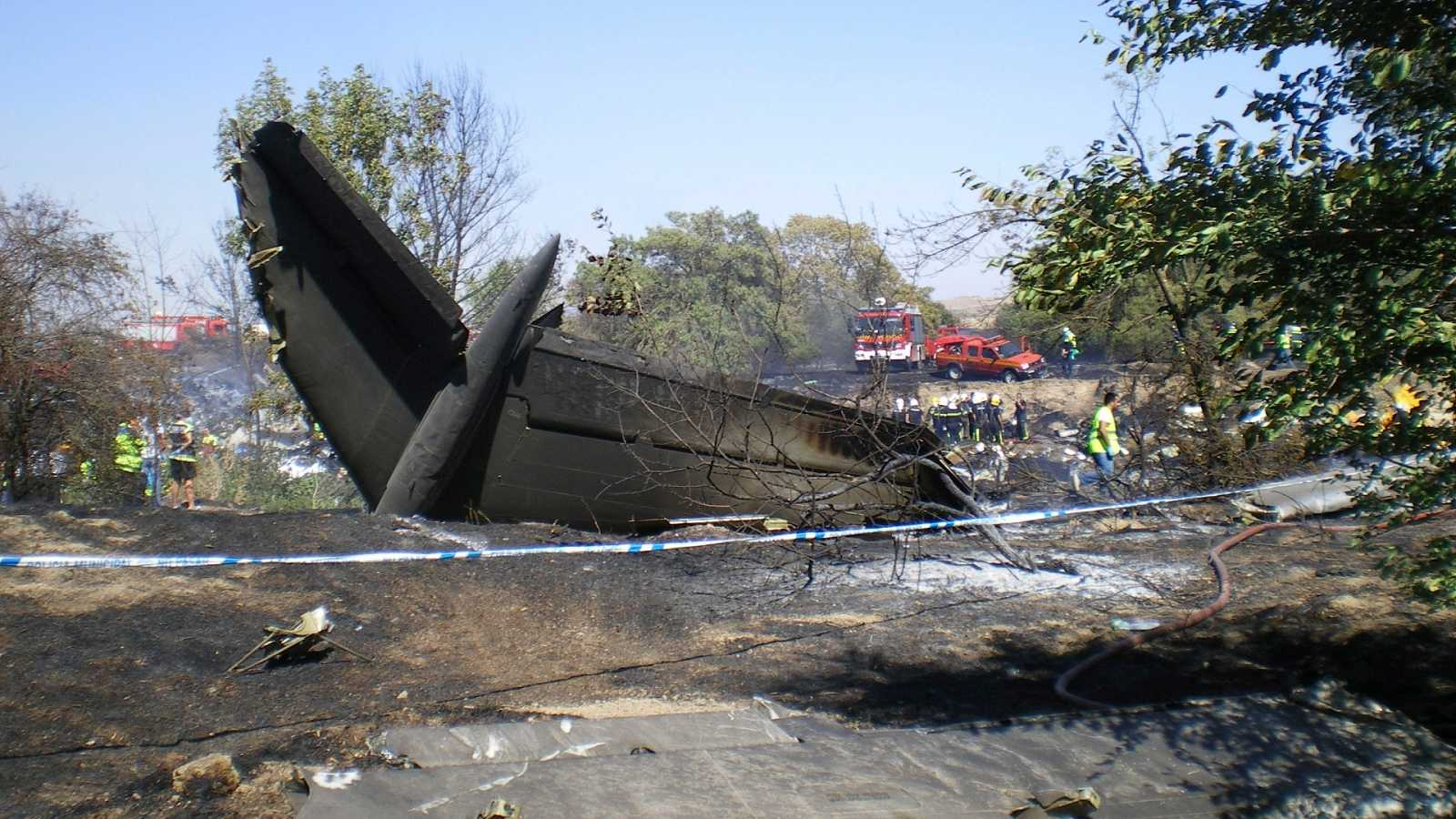 Parlamento - Radio 5 - El accidente de Spanair, una concatenación de errores que derivó en tragedia - Escuchar ahora