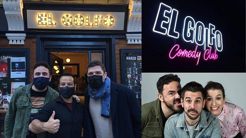 La sala - ¿Algún cómico en La sala? Diego Daño y El Golfo Comedy Club - 20/04/21 - Escuchar ahora