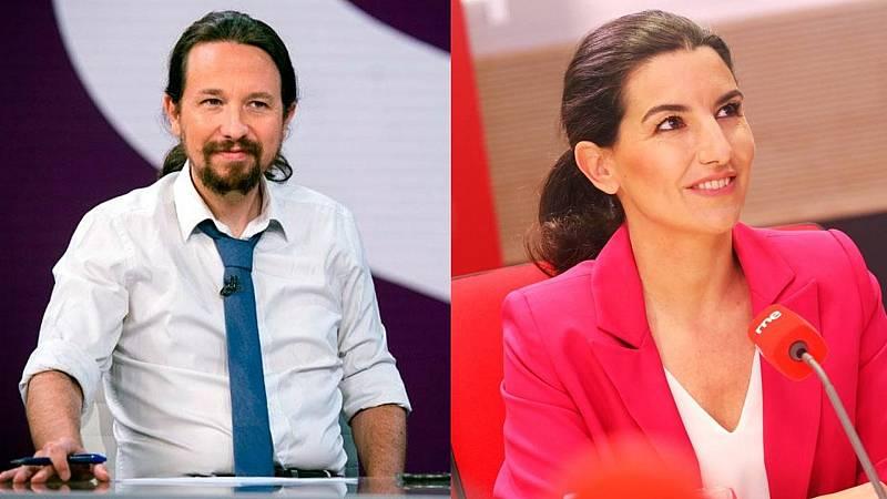 14 horas - La izquierda veta a VOX por negar la veracidad de las amenazas a Iglesias - Escuchar ahora