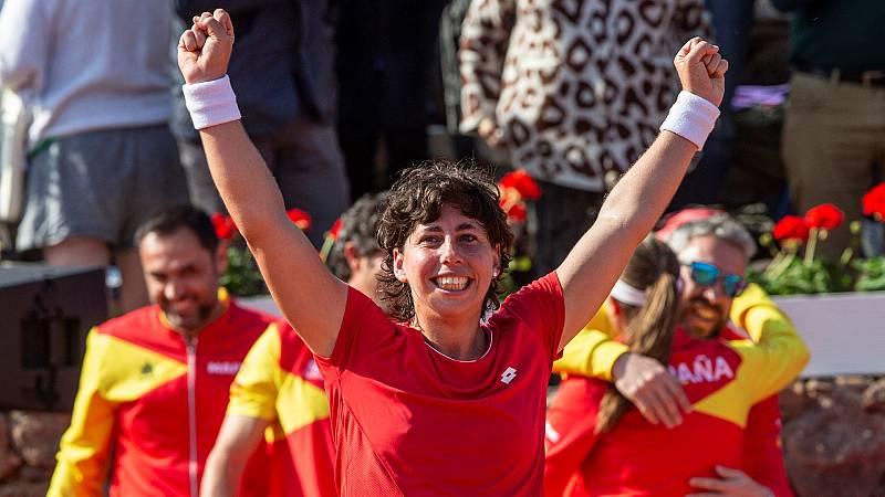 """Radiogaceta de los deportes - Carla Suárez: """"Tengo la ilusión de estar en Roland Garros"""" - Escuchar ahora"""