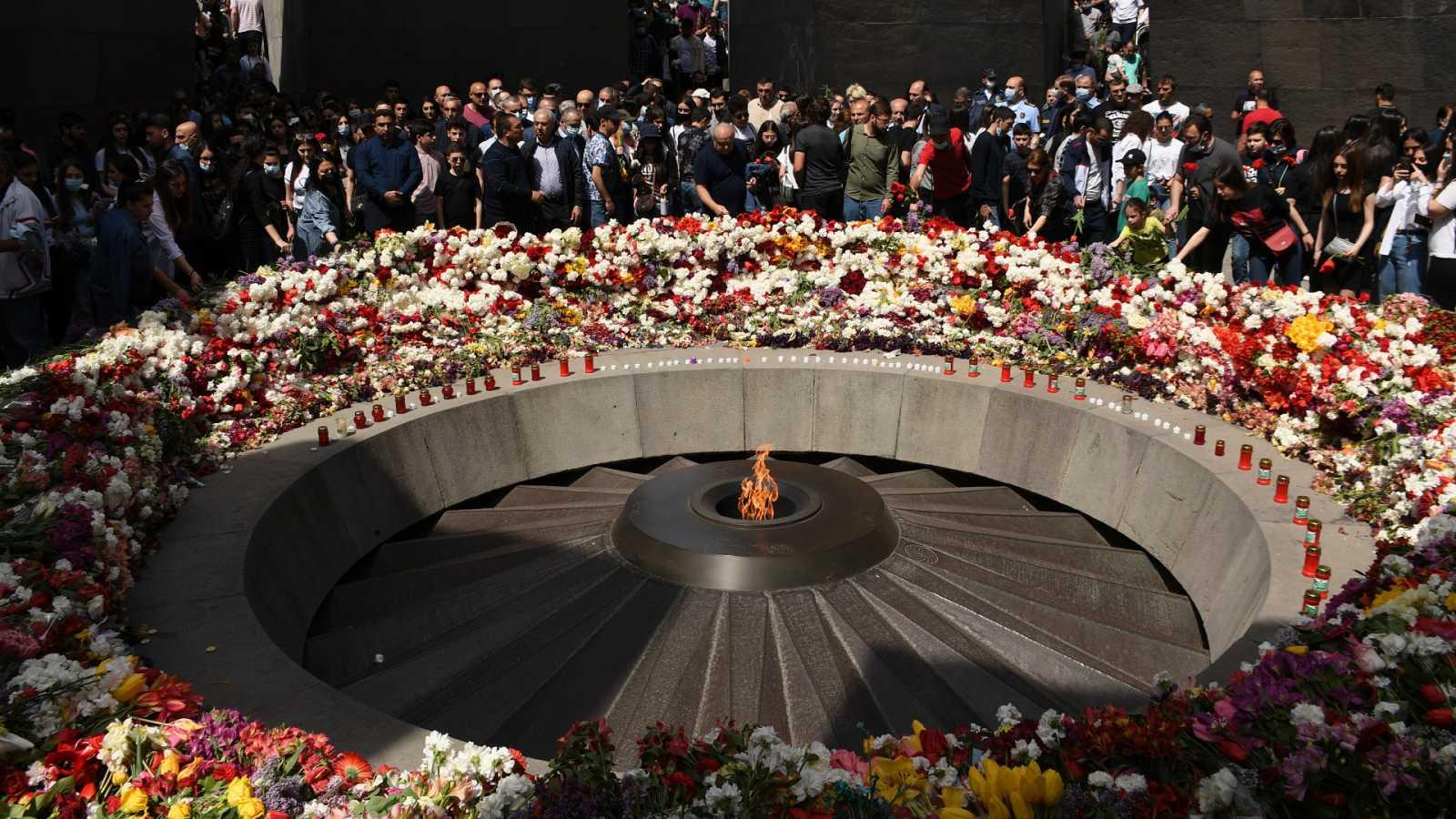 24 Horas Fin de Semana - Joe Biden reconoce el genocidio armenio en el 106 aniversario - Escuchar ahora