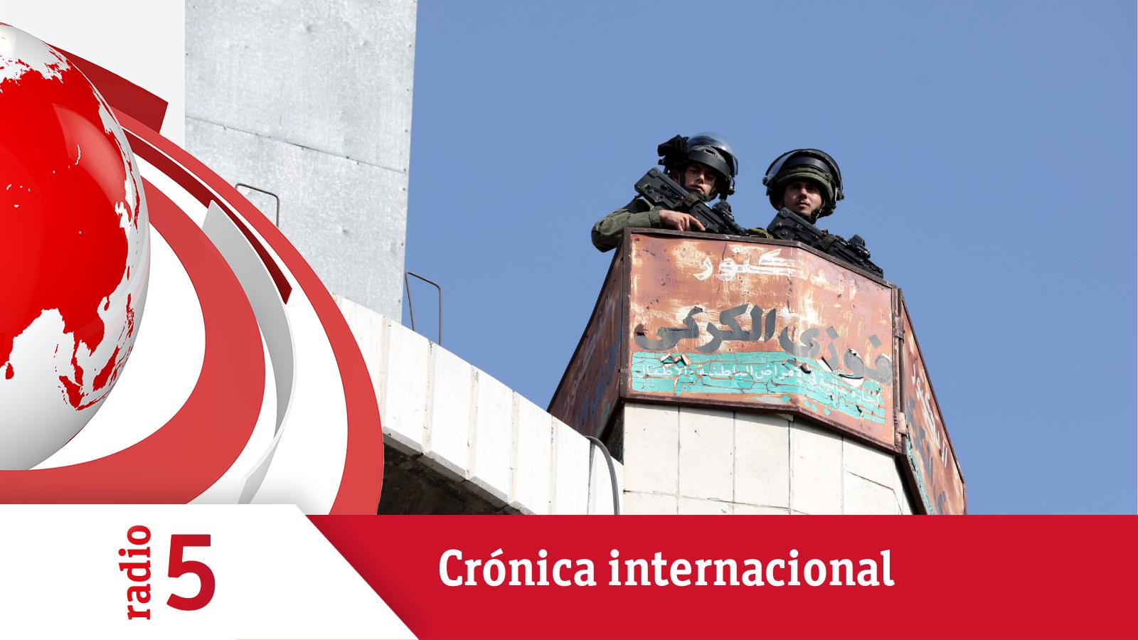 Crónica Internacional - Israel mantiene detenida sin cargos a una cooperante española - Escuchar ahora