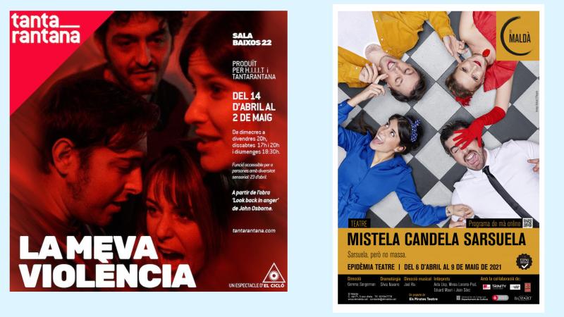 Wonderland - Teatre: 'La meva violència' i 'Mistela. Candela. Sarsuela'