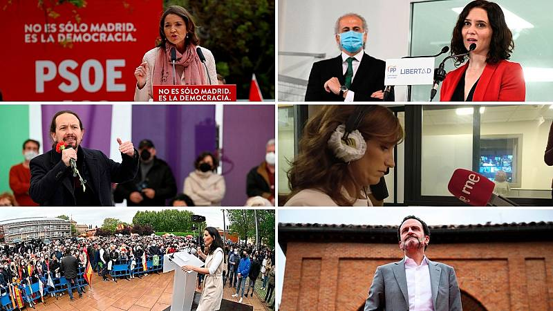 24 horas - Nuevas amenazas de muerte marcan la campaña electoral en Madrid - Escuchar ahora