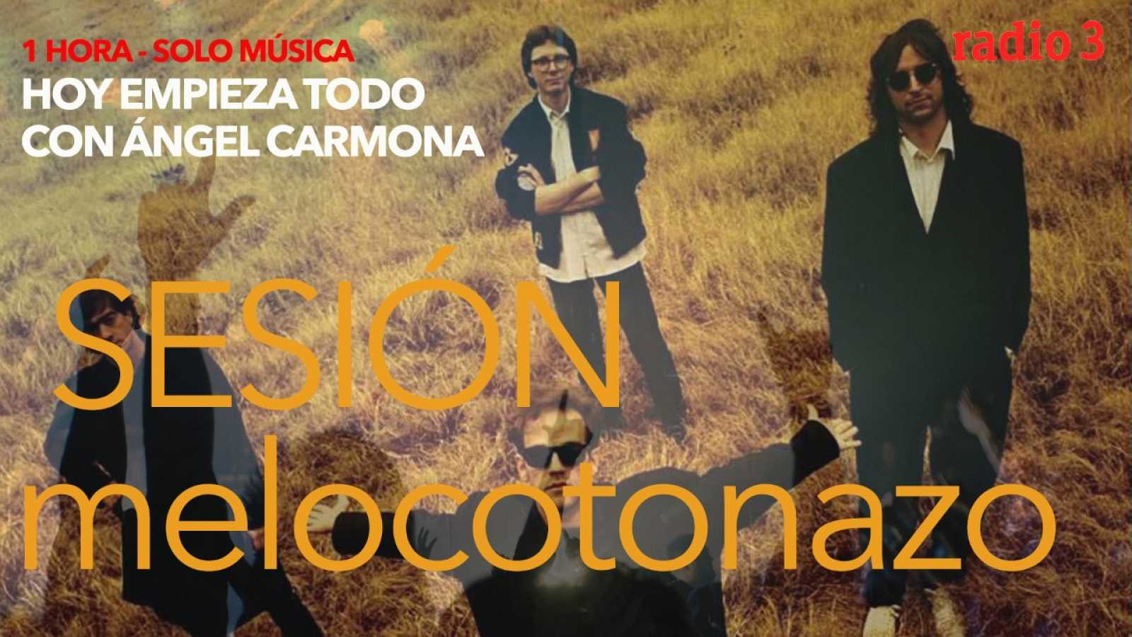 Hoy empieza todo con Ángel Carmona - #SesiónMelocotonazo: R.E.M., Bloc Party, Noname... - 27/04/21 - escuchar ahora