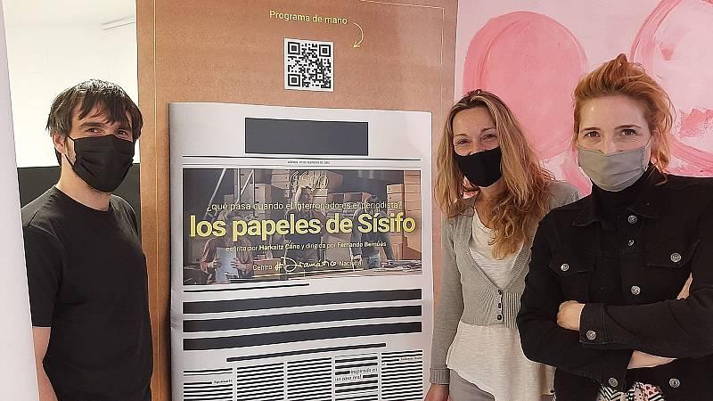 La sala - 'Los papeles de Sísifo': Dorleta Urretabizkaia, Ikerne Giménez e Iñaki Rikarte - 27/04/21 - Escuchar ahora