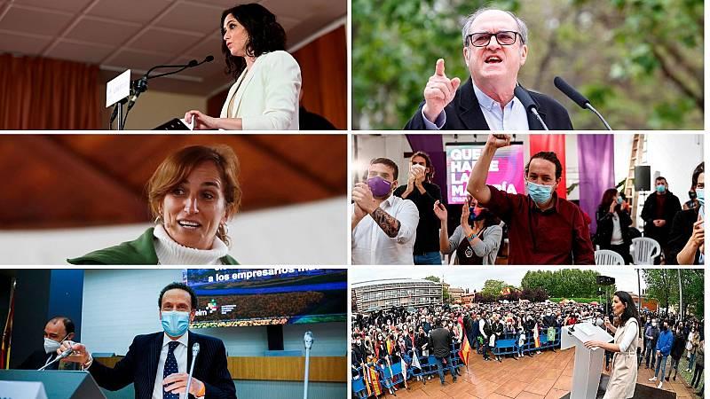 14 horas - Díaz Ayuso se ve reforzada por las encuestas e insiste en gobernar sola - Escuchar ahora