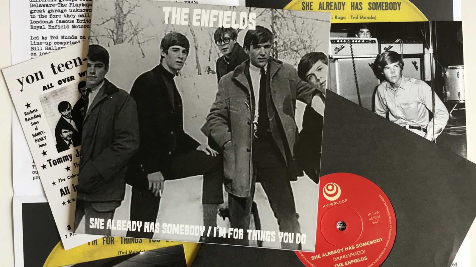 El sótano - Del surf de Los Blue Marinos al garage folk de The Enfields - 27/04/21 - escuchar ahora
