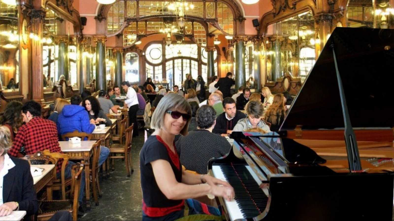 Entre dos luces - Música de salón, con Menchu Mendizábal - 28/04/21 - escuchar ahora