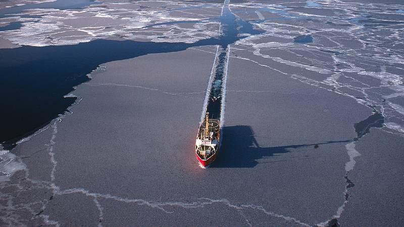 Españoles en la mar - La ruta del Ártico: navegando por el polo Norte, en pleno invierno - 27/04/21 - escuchar ahora