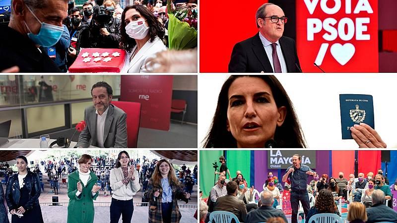 14 horas - Cuenta atrás en Madrid con la crispación al alza y las encuestas a favor del PP - Escuchar ahora