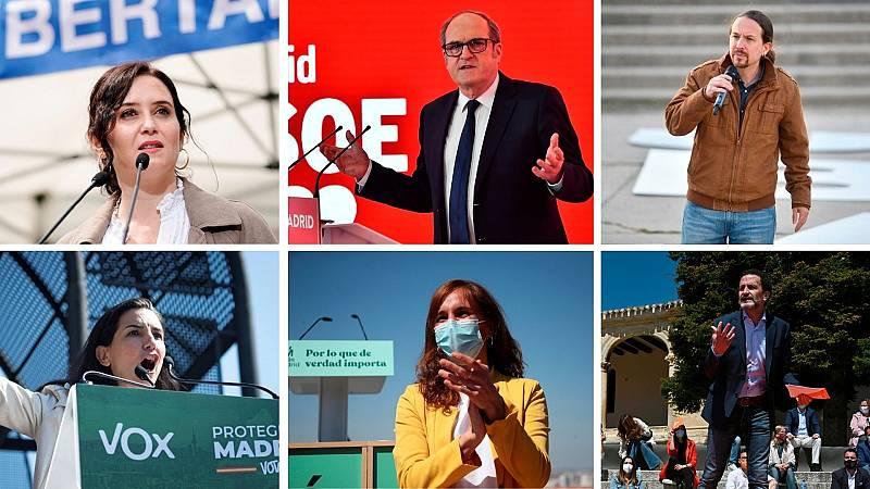 24 horas - Cuenta atrás en Madrid con la crispación y los sondeos de fondo - Escuchar ahora