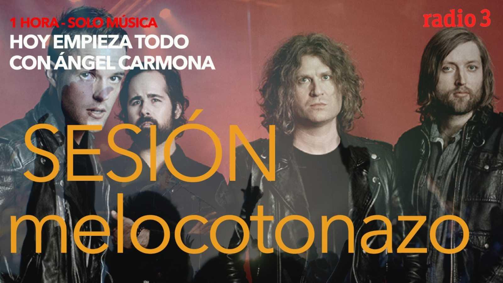 Hoy empieza todo con Ángel Carmona - #SesiónMelocotonazo: The Killers, Willie Nelson, Venturi... - 29/04/21 - escuchar ahora