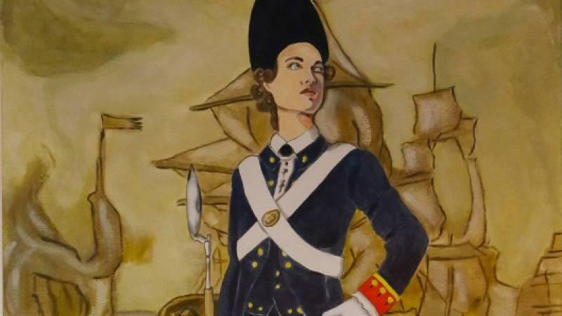 Españoles en la mar - Primera infante de marina española - 28/04/21 - escuchar ahora