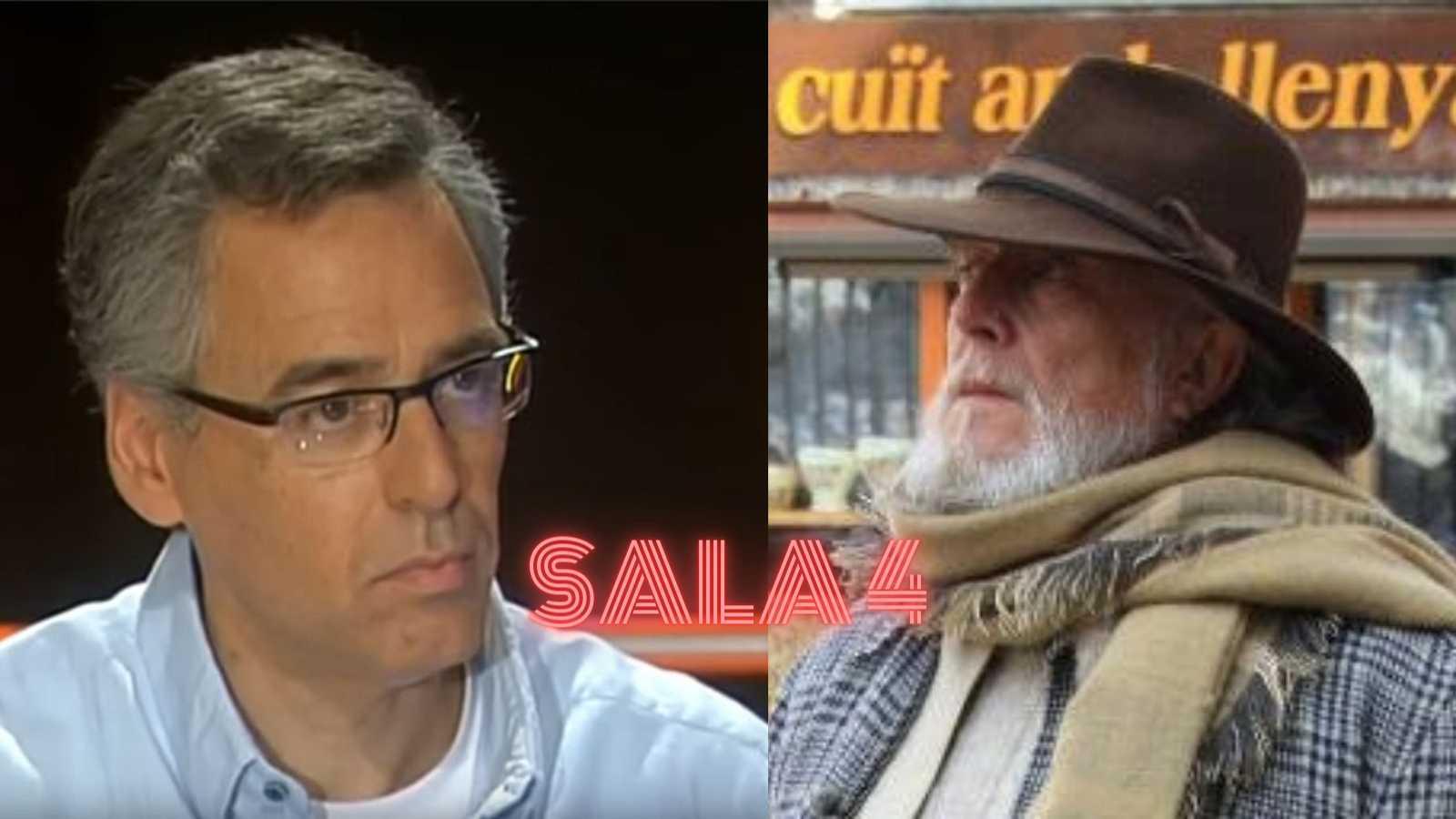 Sala 4 - Entrevista amb Jordi Galceran i Lluís Quinquer