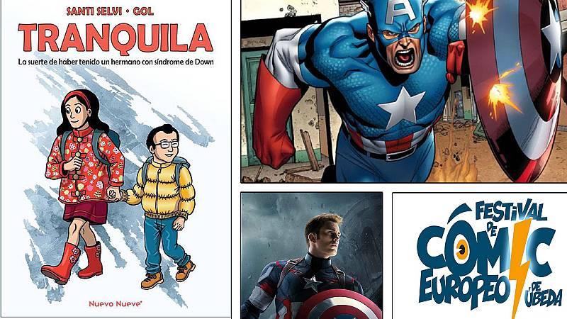 ¡Qué de cómics! - Tranquila, el Capitán América y el festival de Úbeda - Escuchar ahora