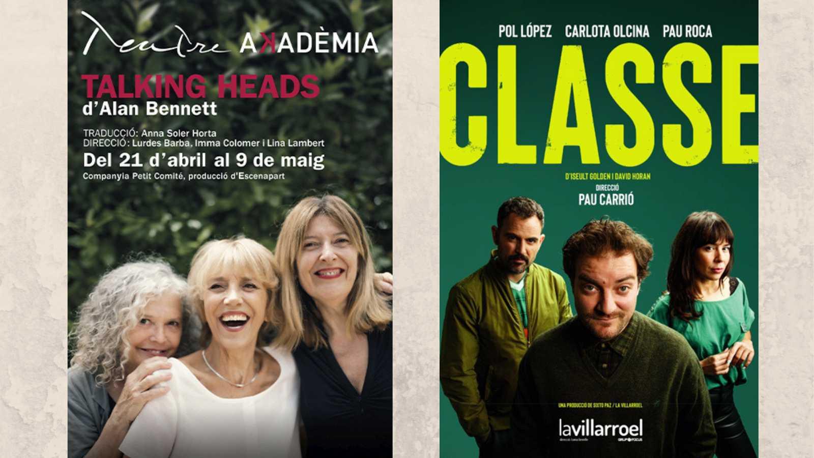 Wonderland - Teatre: 'Talking heads' i 'Classe'