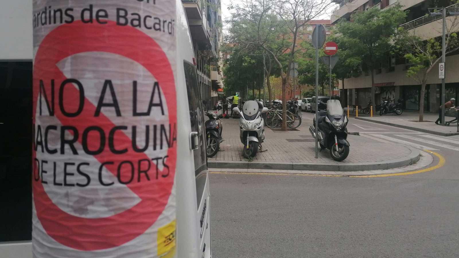 Després del col·lapse - Les Corts i Sant Martí afectats per les cuines fantasma - 05/05/21 - escoltar ara -