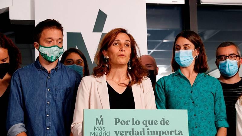 Especiales informativos RNE - Más Madrid adelanta al PSOE como segunda fuerza en número de votos - Escuchar ahora