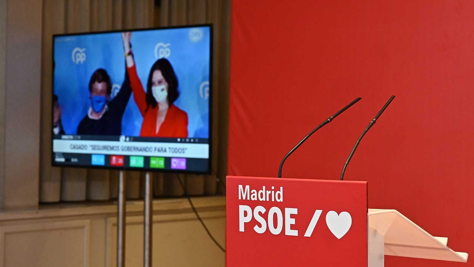 """Las mañanas de RNE con Íñigo Alfonso - El PSOE atribuye la debacle a la fatiga pandémica y subraya que """"Madrid no representa al conjunto de España"""" - Escuchar ahora"""