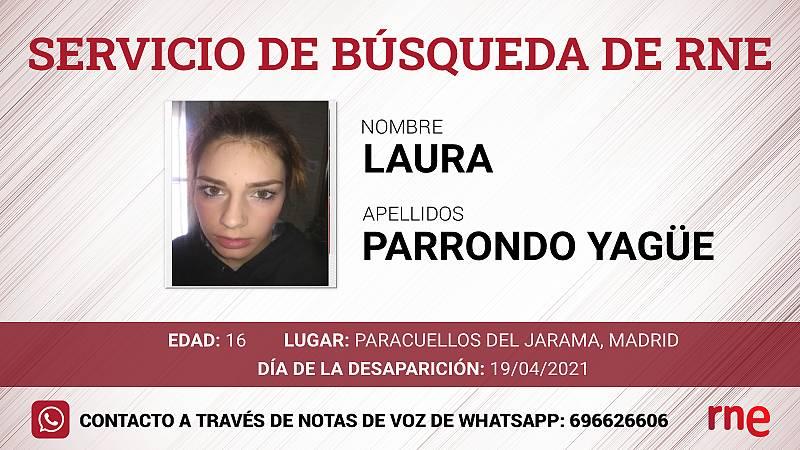Servicio de búsqueda - Laura Parrondo Yagüe. desaparecida en Paracuellos del Jarama - Escuchar ahora