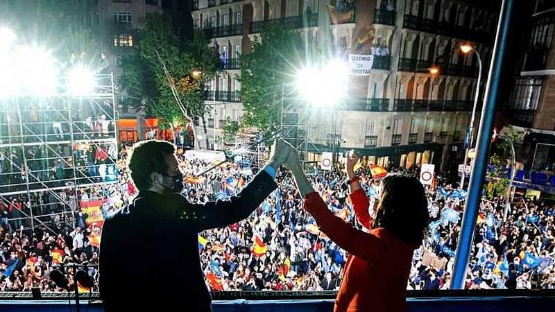 24 horas - Mesa del mundo: ¿Cómo se ha contado en Europa la victoria de Ayuso? - Escuchar ahora