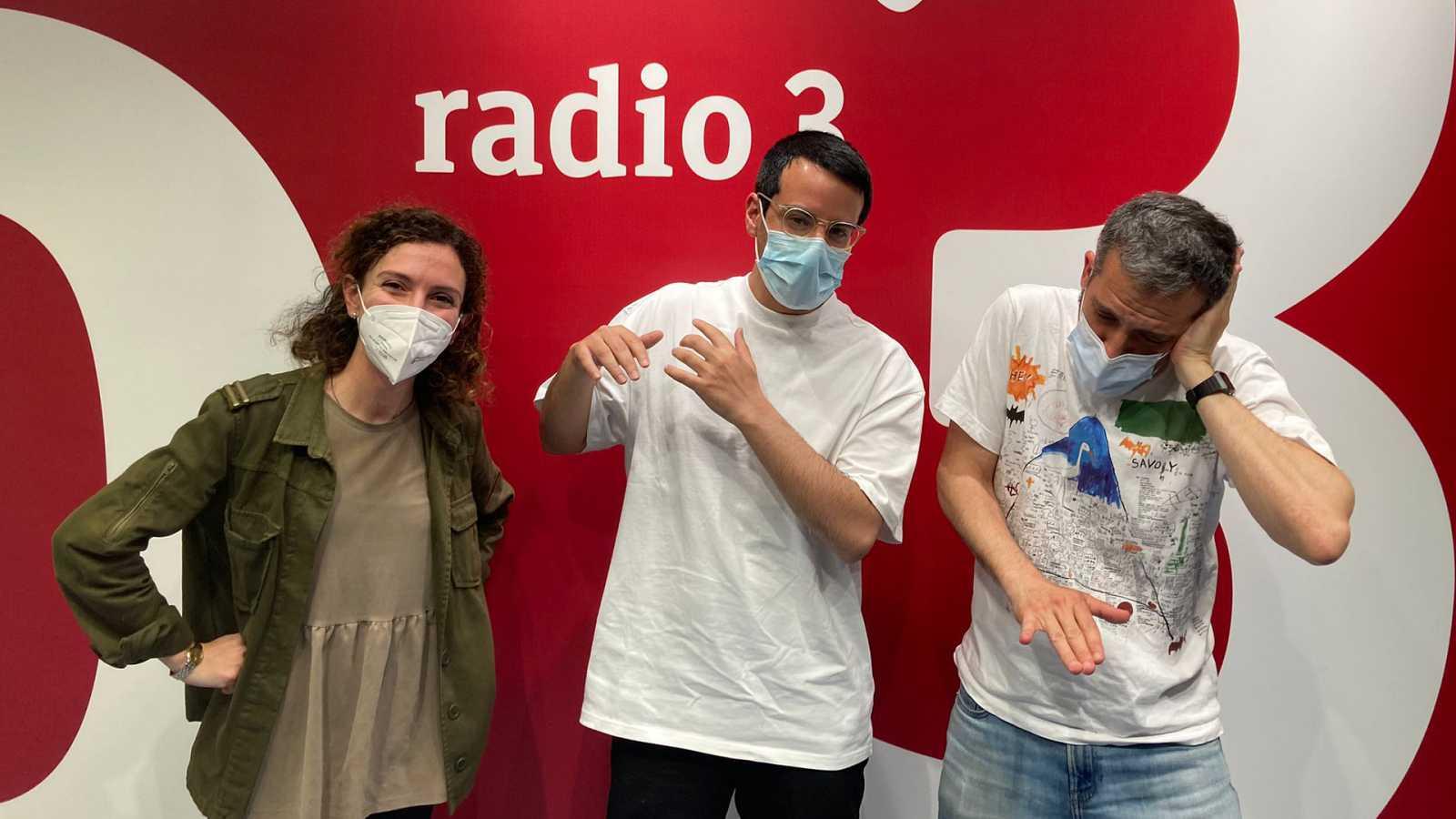 Hoy empieza todo con Ángel Carmona - Baiuca, Luís Álvaro, Música de gasolinera - 06/05/21 - escuchar ahora