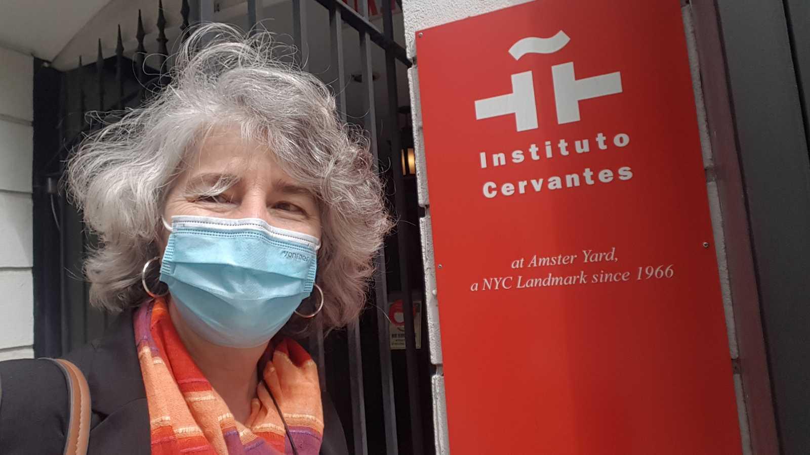 Un idioma sin fronteras - El Cervantes de Nueva York - 08/05/21 - escuchar ahora