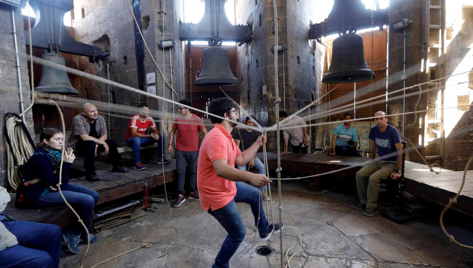 Punto de enlace - España presenta el toque manual de campanas a Patrimonio de la Humanidad - 06/05/21 - escuchar ahora