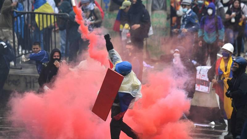 14 horas - Protestas en Colombia: las ONG denuncian que hay 40 manifestantes muertos - Escuchar ahora