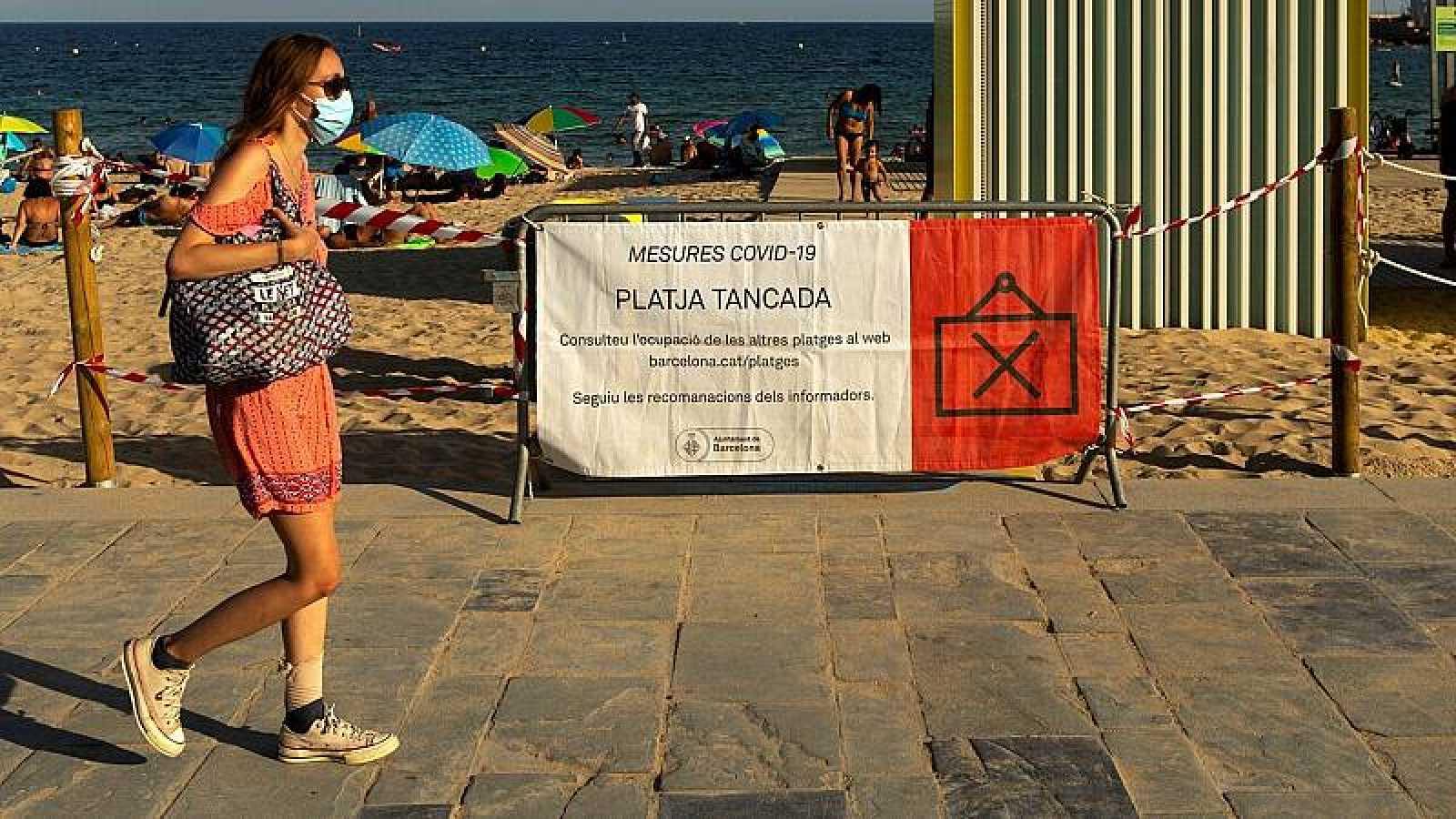 Barcelona regularà dilluns l'accés a les platges