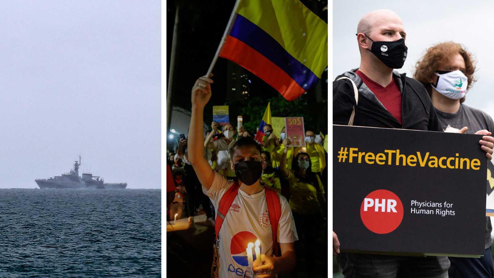 Cinco continentes - Conflicto pesquero entre el Reino Unido y Francia - Escuchar ahora