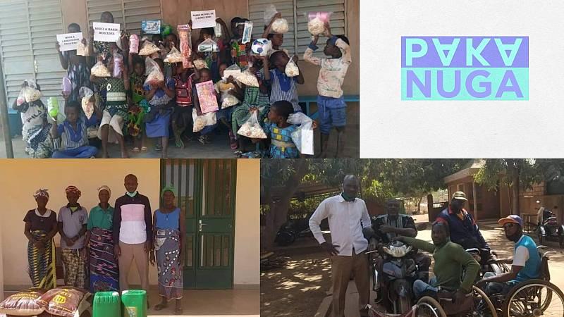 Más cerca - Paka Nuga y sus toneladas de solidaridad para Burkina Faso - Escuchar ahora