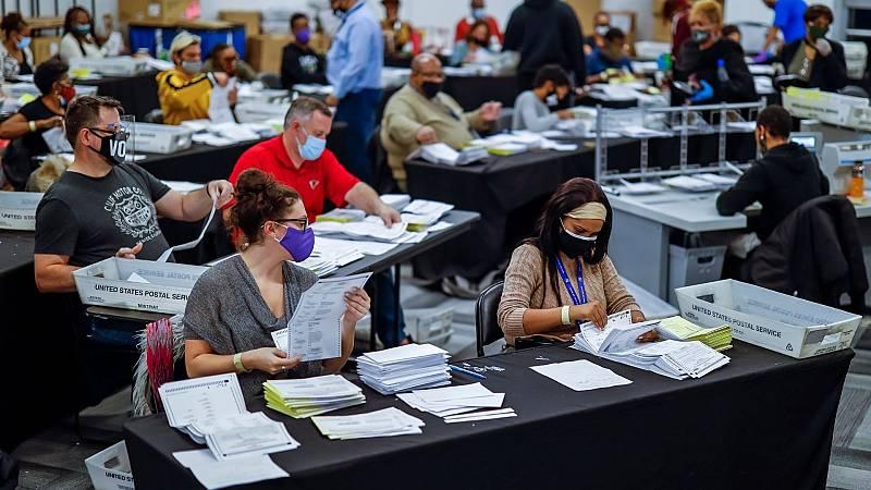 14 horas - Florida sigue los pasos de Georgia y aprueba una ley que restringe el voto por correo - Escuchar ahora