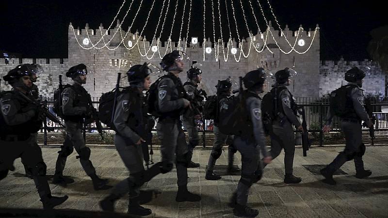 14 horas Fin de Semana - Más de 200 heridos en una nueva jornada de protestas en Jerusalén - Escuchar ahora