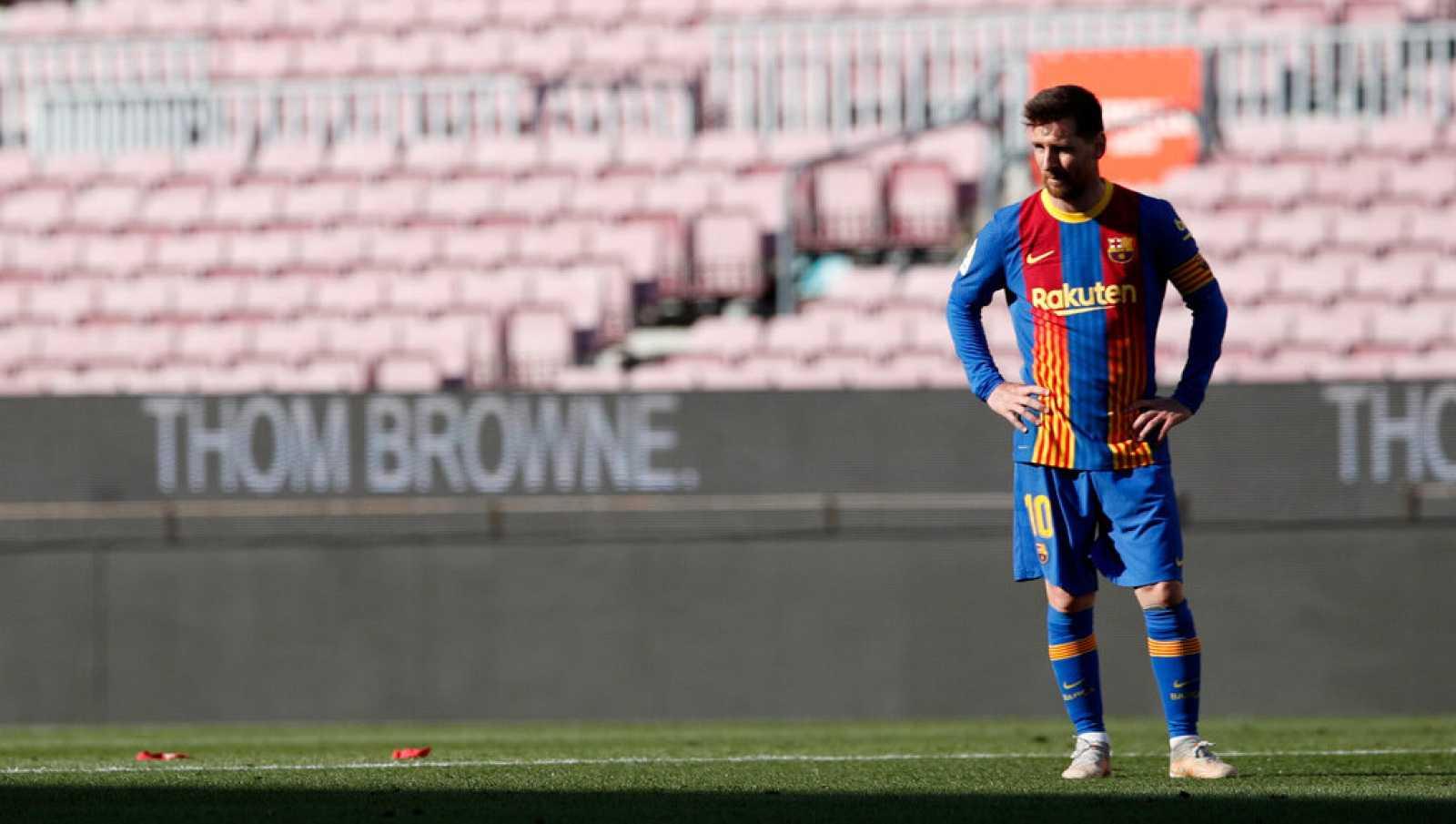 Tablero deportivo - El F.C. Barcelona se deja la Liga en el Camp Nou - Escuchar ahora