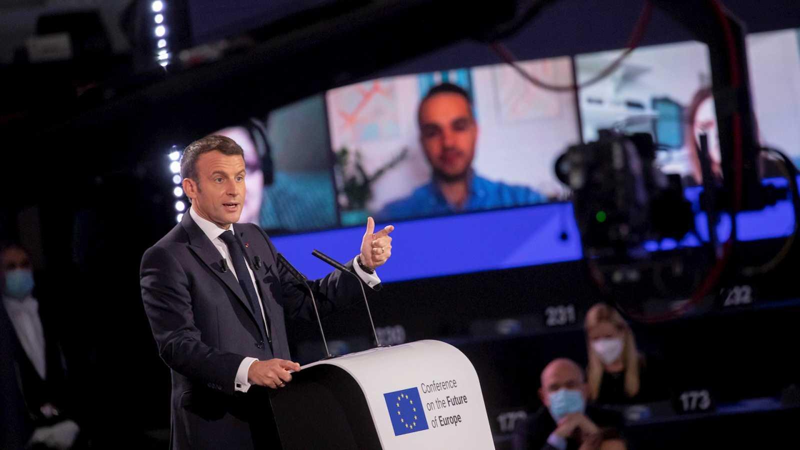 14 horas Fin de Semana - La Unión mira hacia el futuro en el Día de Europa - Escuchar ahora