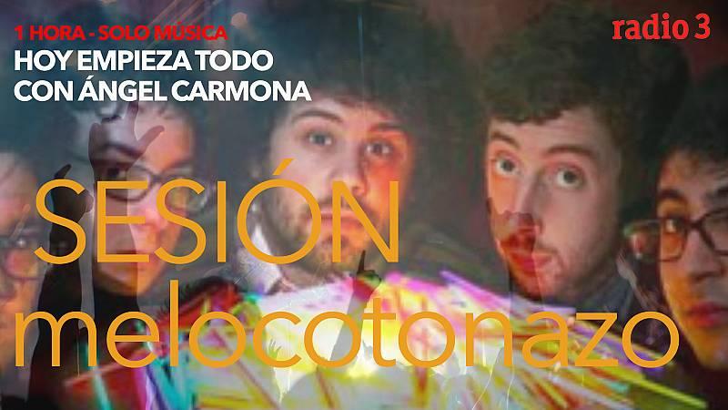 "Hoy empieza todo con Ángel Carmona - ""#SesiónMelocotonazo"": U2, Passion Pit,  Nat Simons...- 10/05/21 - escuchar ahora"