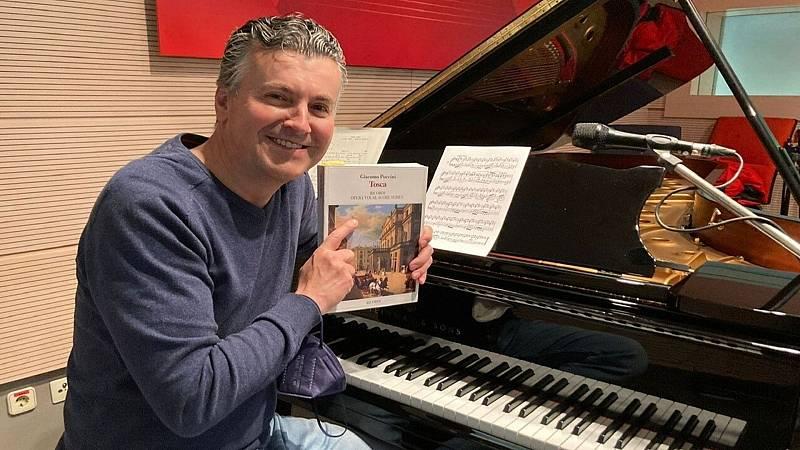 Ramón Gener al piano en directo - Escuchar ahora