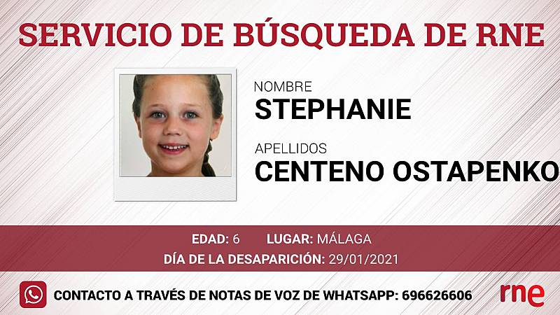 Servicio de búsqueda - Stephanie y Leonardo Centeno, desaparecidos en Málaga - Escuchar ahora