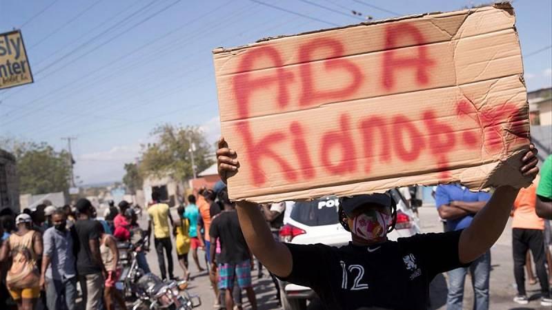 Hora América - Aumentan los secuestros en Haití en medio de una ola de inseguridad por inestabilidad del país - 10/05/21 - escuchar ahora