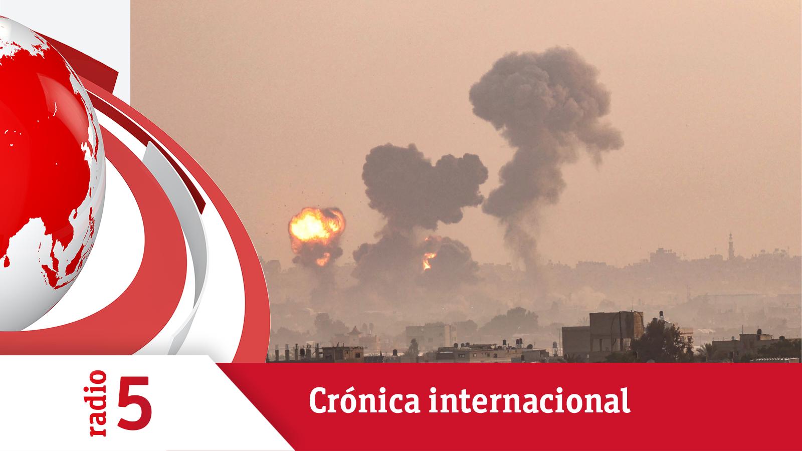 Crónica Internacional - Se recrudece la violencia entre israelíes y palestinos - Escuchar ahora
