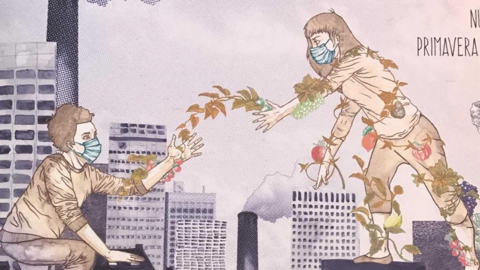En Directe a Ràdio 4 - Vida verda - Com funcionen els bancs d'aliments?