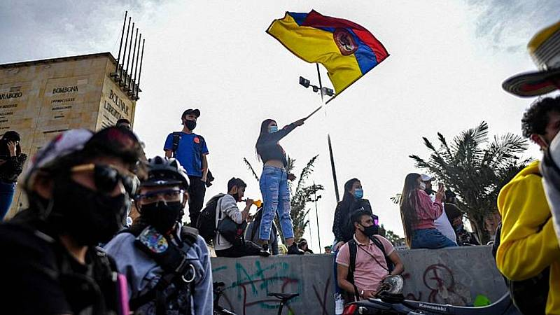 24 horas - Colombia: una sociedad que se siente abandonada - Escuchar ahora