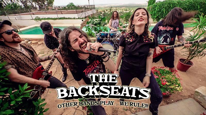El Vuelo del Fénix - The Backseats, Blind Guardian y Herman Frank - 11/05/21 - escuchar ahora